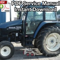 New holland shop manual Tc35
