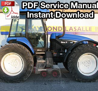 New Holland TV145 Tractor Shop Manual