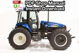 New Holland TV6070 Tractor Shop Manual
