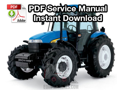New Holland TD80D, TD95D Tractor Service Manual on