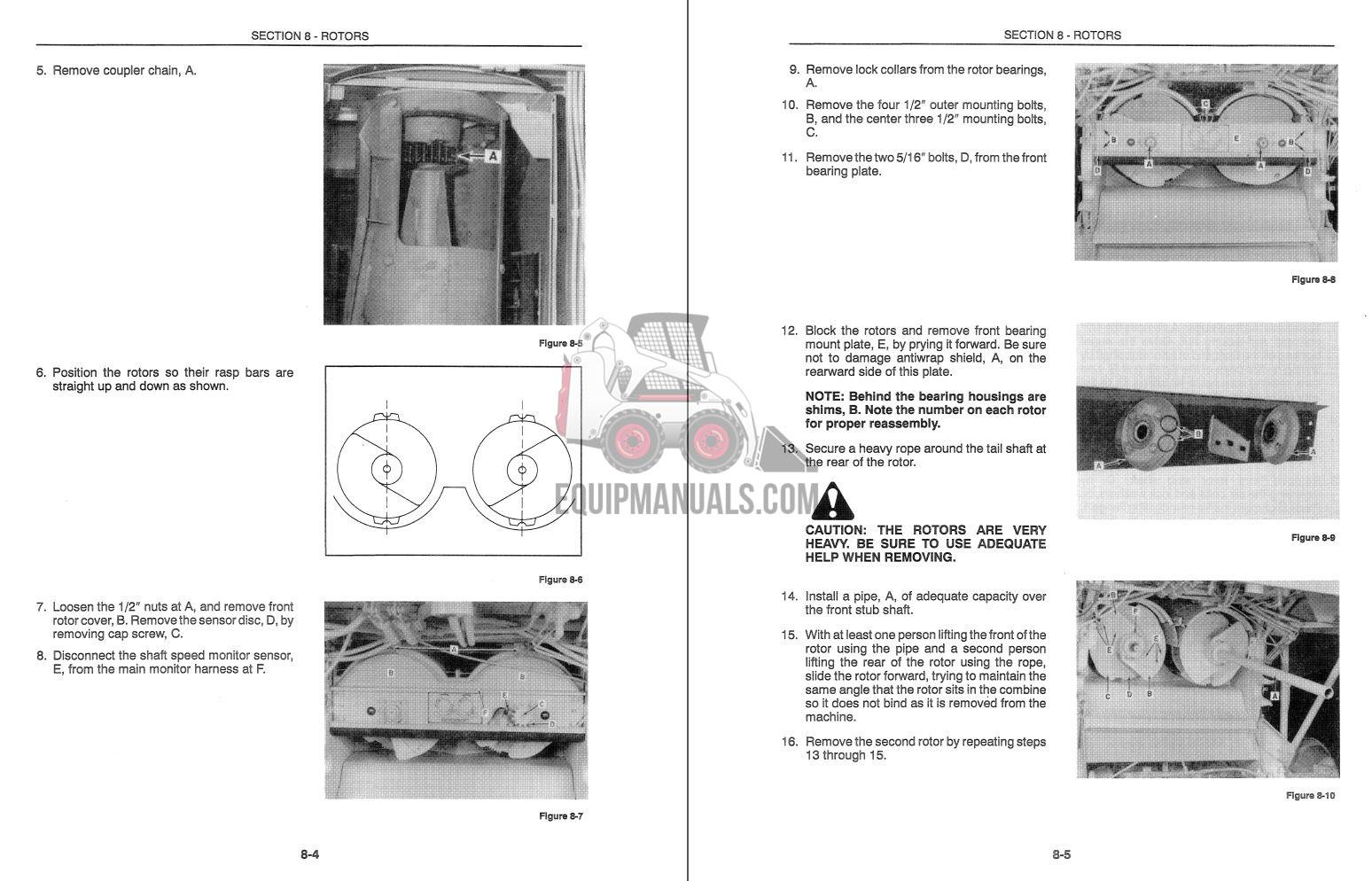 New Holland Tr86  Tr87  Tr88 Combine Service Manual