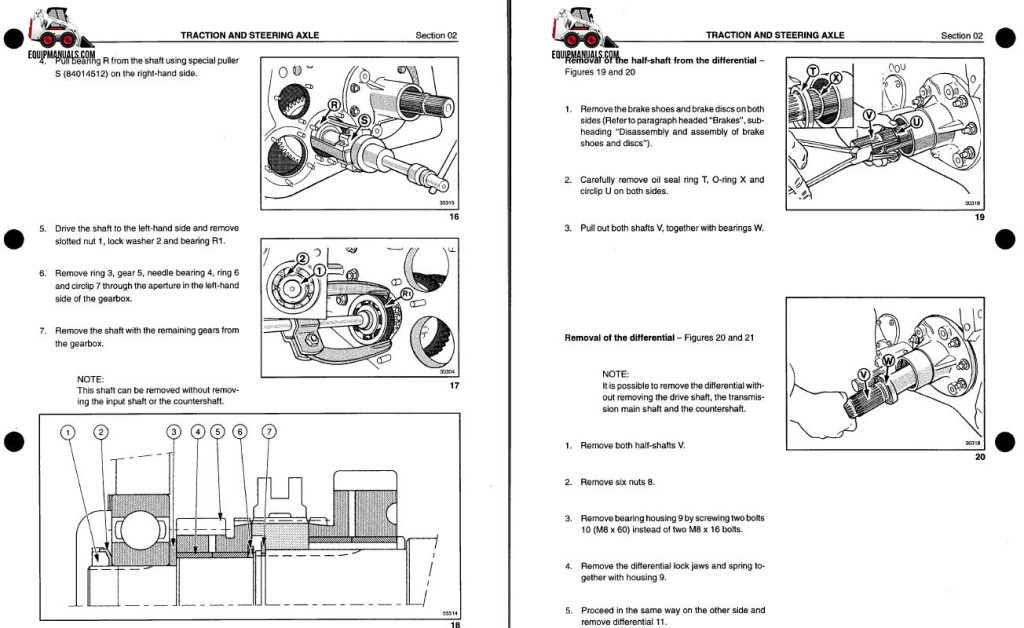 Case IH 9370, 9380, 9390 Wheel/Quadtrac Tractor Service Manual
