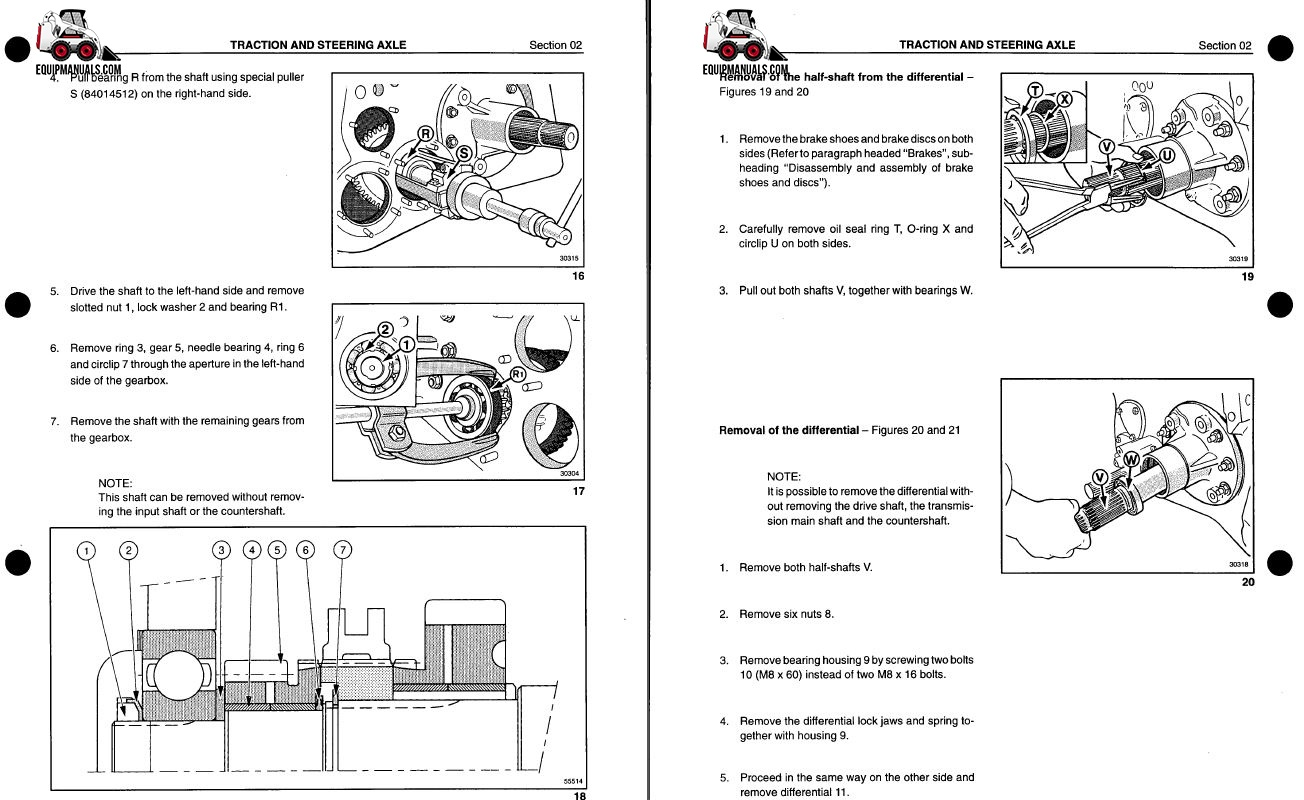 New Holland TF76, TF78 Combine Service Manual