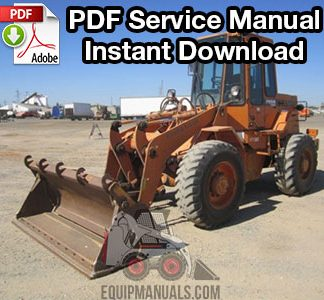 Fiat Allis FR9B, FR9C, FR90 Wheel Loader