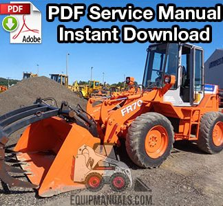 Fiat Allis FR70 Wheel Loader