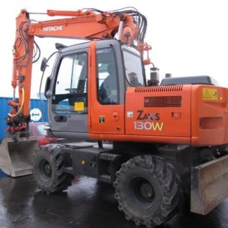 Hitachi Zaxis 130W Excavator Workshop Manual