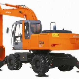 Hitachi Zaxis 180W Excavator Workshop Manual