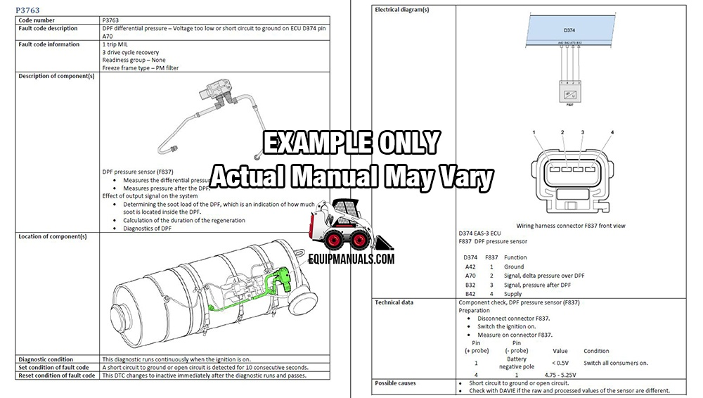 Paccar MX-13 EPA13 Engine OBD Code Troubleshooting Manual