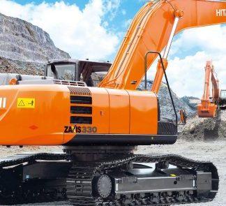 Hitachi Zaxis 330, 350, 370 Excavator Complete Service Manual