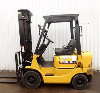 Caterpillar DP15K, DP18K Forklift Complete Service Manual