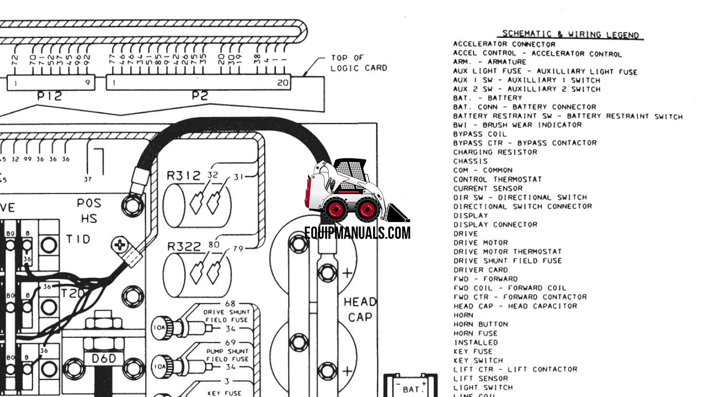 mitsubishi fb10 thru fb30 ca  hca forklift service manual