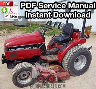 Case IH 1120, 1130, 1140 Tractor