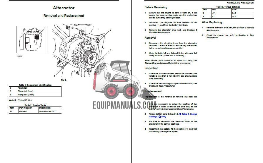 Case 580M 590 Super M Series 3 Tractor Loader Backhoe Service Manual