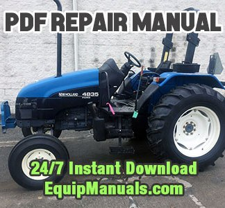 New holland Service manual 4835