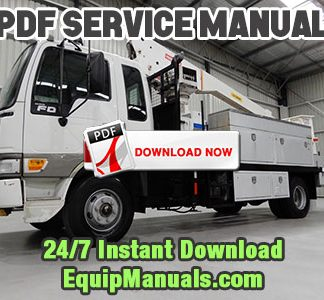Hino Truck Service Manual PDF Download