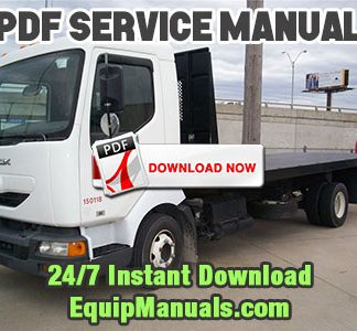 Mack Freedom M, L, XL, XXL Truck Service Manual