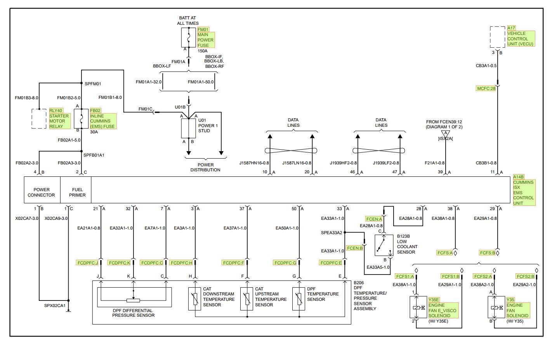 Volvo Vhd Truck Service Wiring Diagram