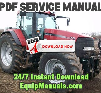 Case IH MX150, MX170 Tractor Service Manual