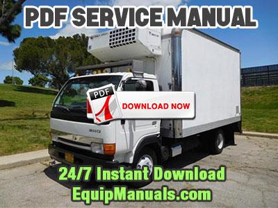 1999-2003 Nissan UD 1800CS Truck Service Manual