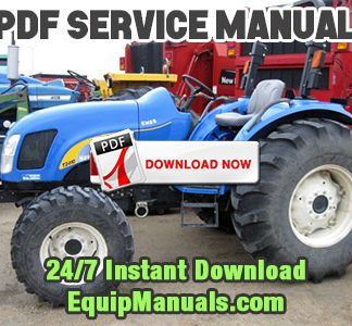 New Holland T2410, T2420 Tractor Service Manual