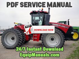 Case IH Steiger 350, 400, 450, 500, 550, 600 Tractor Service Manual PDF Download
