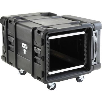 "SKB 28"" Deep 8 Unit Roto-Molded Shock Rack Cases"