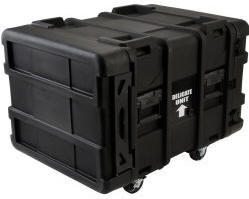 "SKB 24""  Deep 6 Unit Roto-Molded Shock Rack Cases"