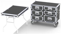 """WorkPro has drawers-table-6"""" turf tires-Model DP68-985"""