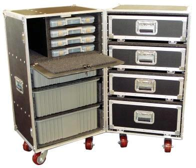 Double Drawer Upright Trunk-Model DP68-610 Option 4
