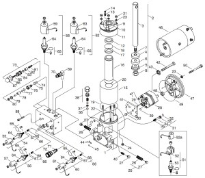 Meyer Hydraulic E66 Parts