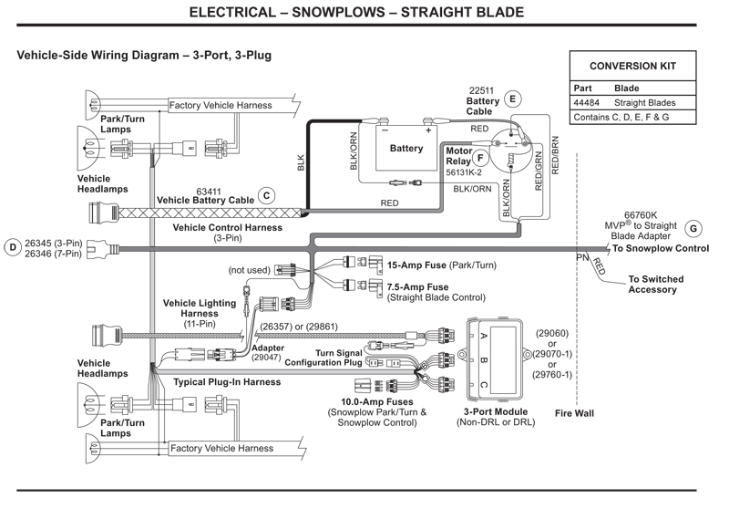 Wiring Diagram For Fisher 3 Plug Plow