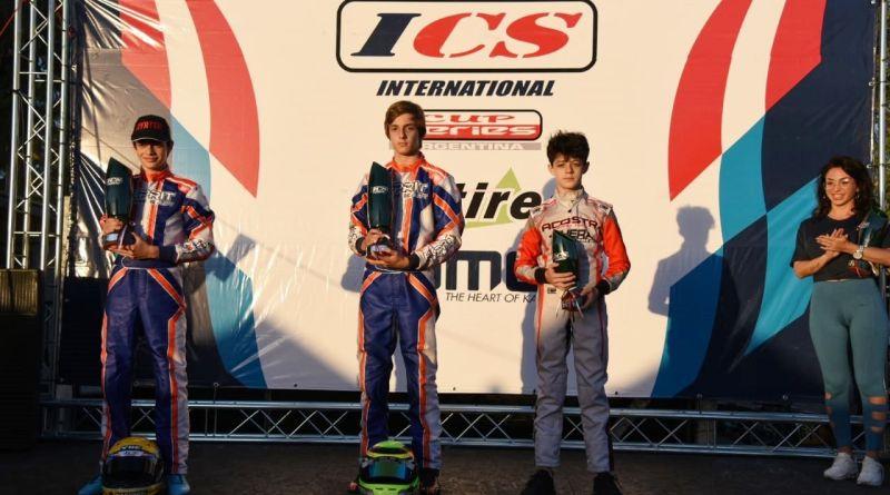 IC Series : Nacho hizo podio en las dos Finales.