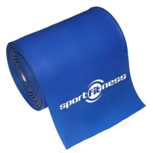 Banda Elastica Theraband Sportfitness Azul Resistencia Alta 2 Mt