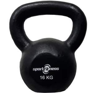 Pesa Rusa Mancuerna 16 Kg Kettlebell Sportfitness Gimnasio
