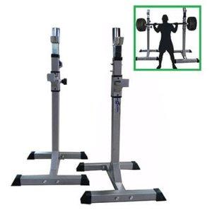 Soportes Sentadillas Pesas Barras Sportfitness Ejercicio Gym
