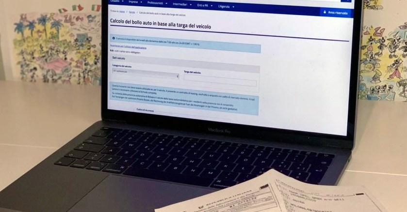 pagamento online bollo auto