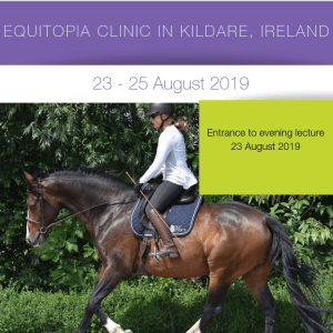 Evaluation and Riding Clinic – Ireland: evening lecture 23 August