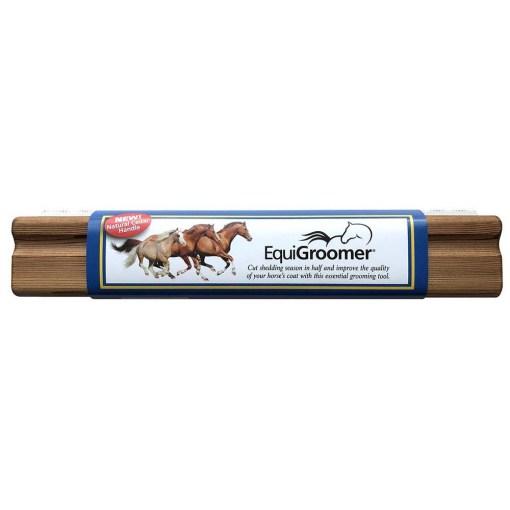 Brosse de mue EquiGroomer - 9 L 25cm - natural cedar - 1000x1000
