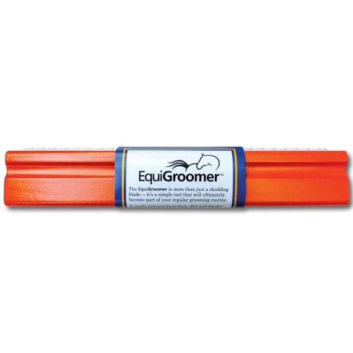 Brosse de mue EquiGroomer - 9 L 25cm - orange - 1000x1000