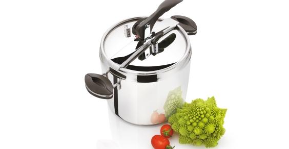 In cucina: la pentola a pressione ottima per la salute e l'ambiente