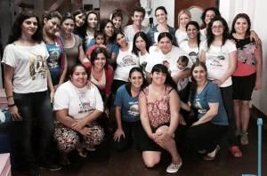 Maxi Guerra y Patricia Baca junto al Equipo de la Fundación Era en Abril