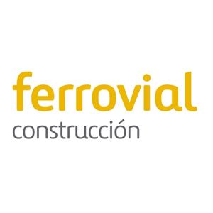 Logotipo de Ferrovial Construcción