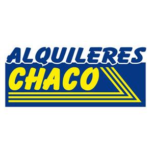Logotipo de la empresa de alquiler de maquinaria Alquileres Chaco