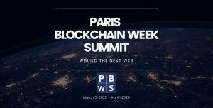 PARIS  BLOCKCHAIN WEEK  SUMMIT @ STATION F