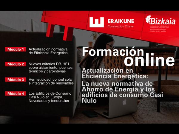 Formación online de Eraikune