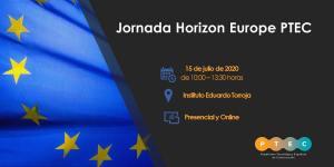 Jornada Horizon Europe 2020 @ Instituto de Ciencias de la Construcción Eduardo Torroja