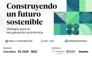 Jornada PRISA «Construyendo un futuro sostenible. Diálogos para la recuperación económica» @ El foro se emitirá en directo a través de las webs de EL PAÍS, Cadena SER y CincoDías.