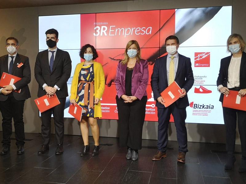 ERAIKUNE y la Diputación lanzan el programa 3R Empresa