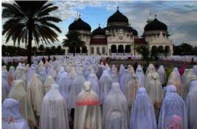 muslimah idul fitri