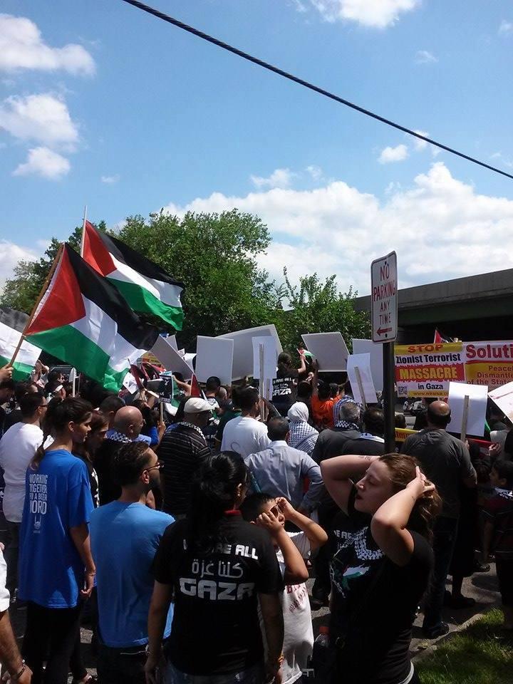 Solidarity With Gaza Di AS 1